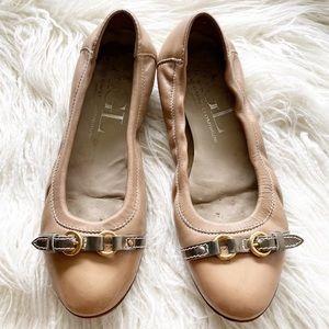 ATTILIO GIUSTI LEOMBRUNI cap toe ballet flats